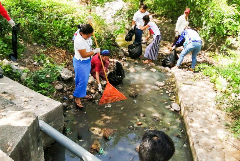 Campaña de Limpieza en prevención al Dengue en Parque Solar Fotovoltaico Nacaome II