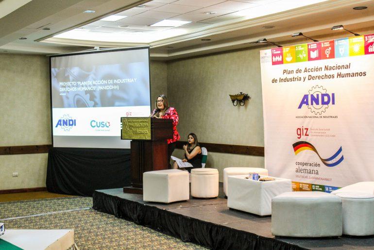 """ANDI presentó el foro """"Innovación, Industria y Derechos Humanos""""."""