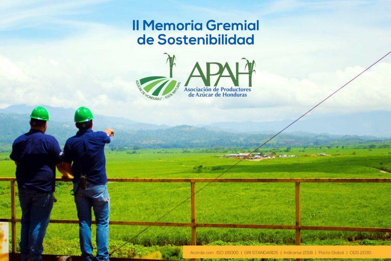 La agroindustria de la caña de azúcar de Honduras resalta en C.A. y recibe su segunda memoria de sostenibilidad.