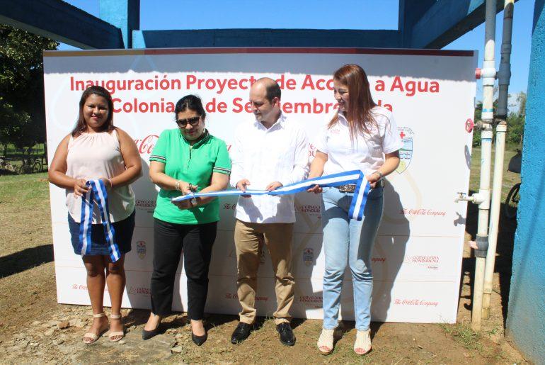 1,400 Familias Cuentan con Agua Potable