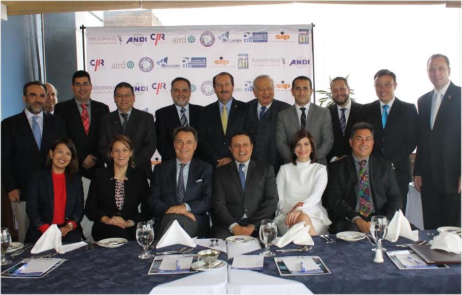 Federación de Industriales solicita acciones urgentes a los Gobiernos para lograr mejoras integrales en los países de la región