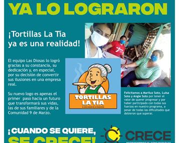 Fundación Argos Honduras: Entrega de Capital Semilla al Primer Emprendimiento Graduado del Programa CRECE