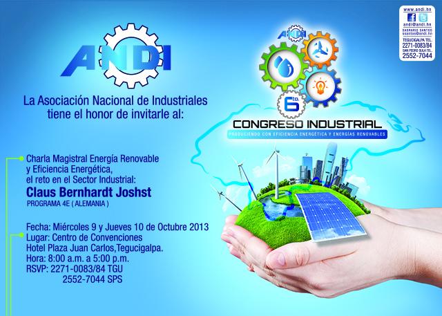 Charla Magistral Energía Renovable y Eficiencia Energética