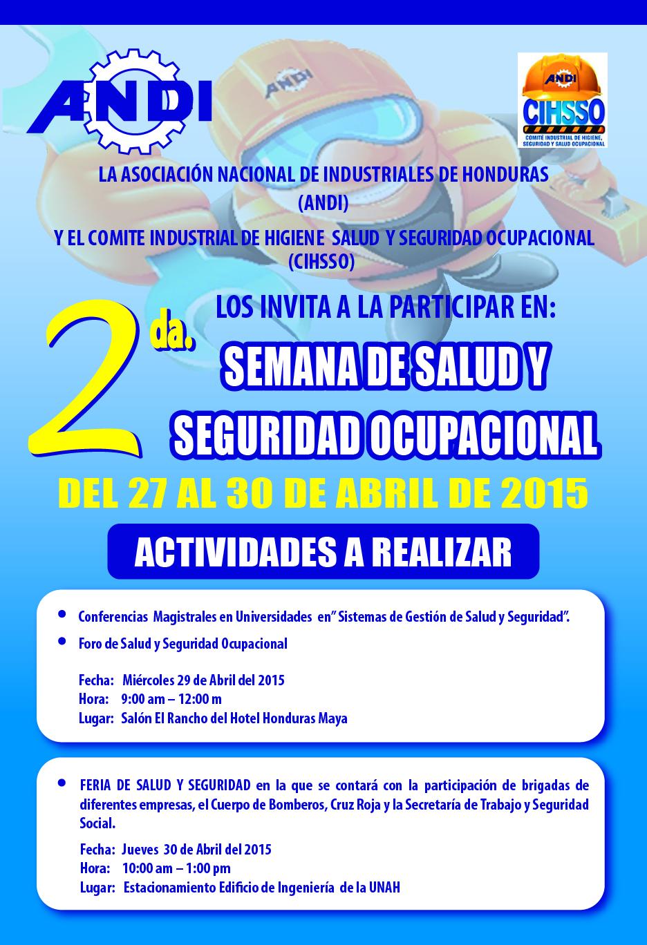 Semana Salud y Seguridad Ocupacional